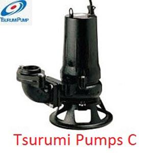 Bơm chìm nước thải Tsurumi cánh cắt 100C45.5